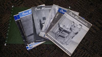 1941 and 1942 OUR MINNESOTA Magazines