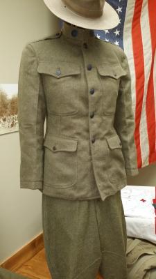 Fosnocht WWI US Army uniform